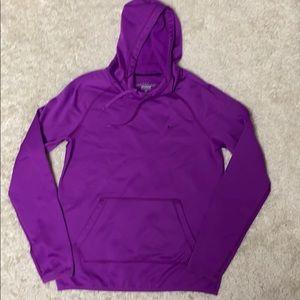 Purple Nike Therma-fit Hooded Sweatshirt